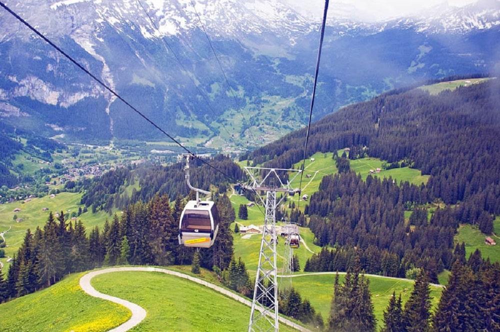 Grindelwald- Männlichen
